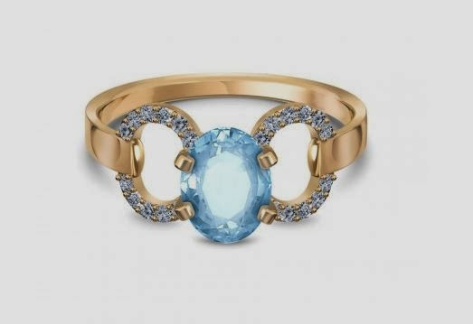Ella Topaz Ring