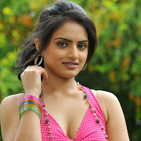 Ritu kaur latest hot photo gallery in pink long dress
