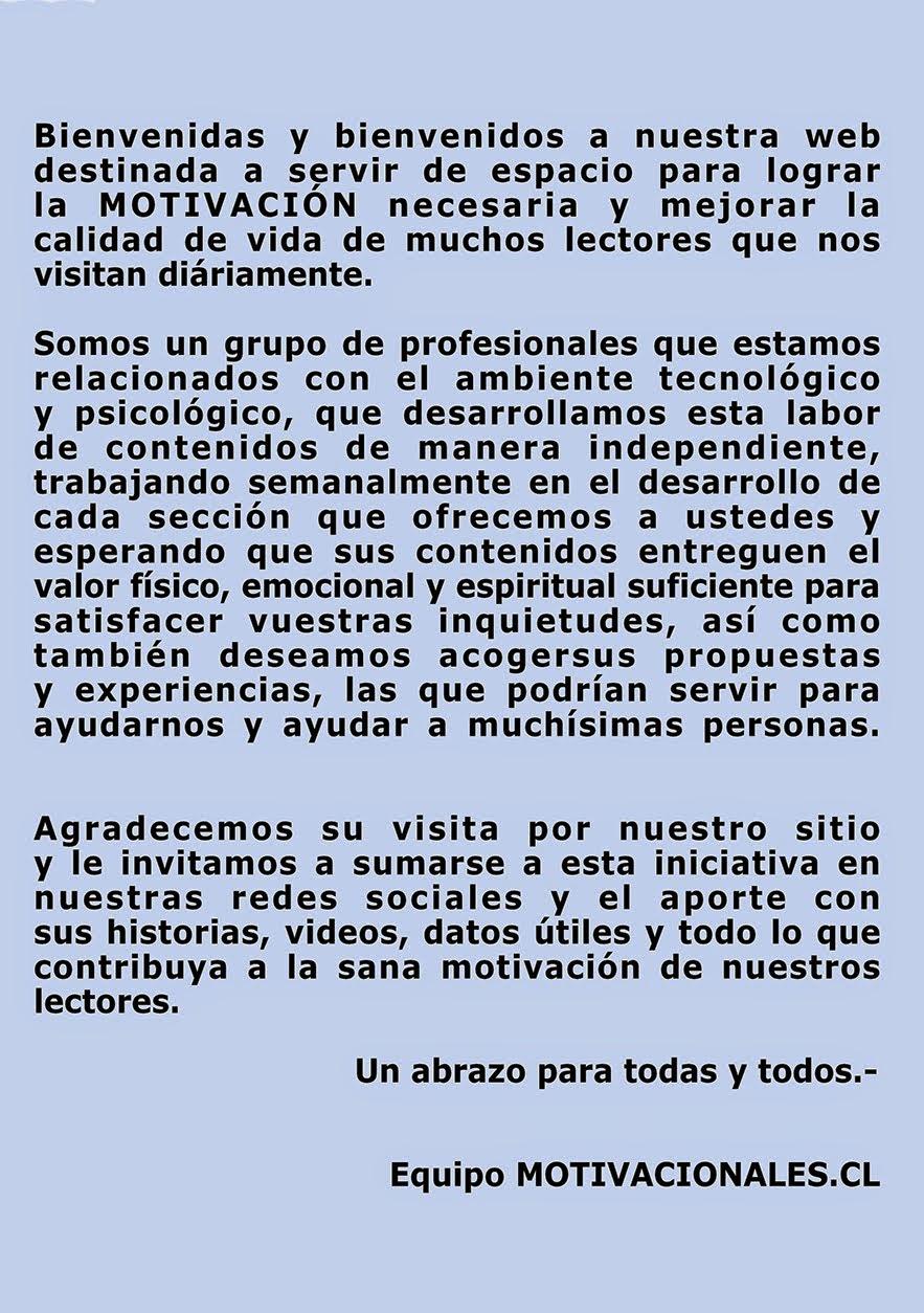 BIENVENIDOS(AS)