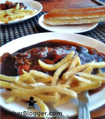 Chicken Steak and Roasted Pork at The Buzz, Darjeeling