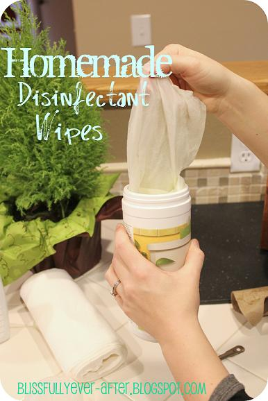How to make disinfectant wipes