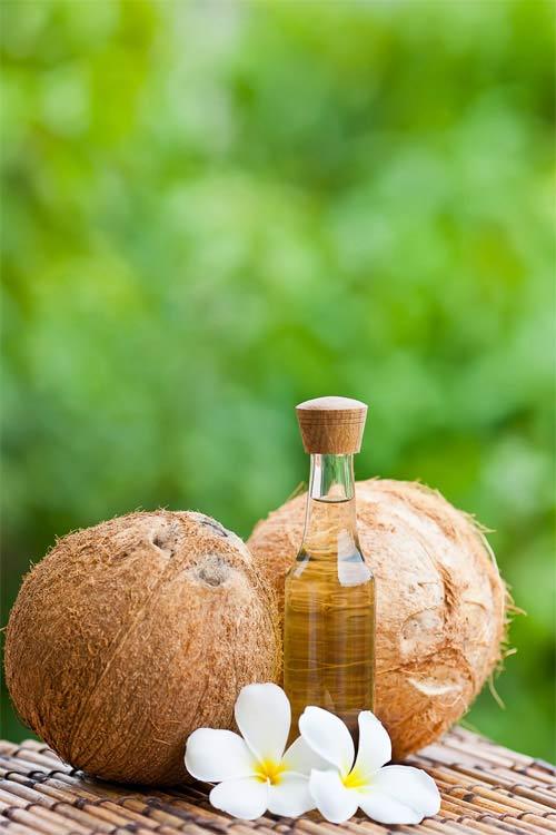 Chăm sóc cơ thể toàn diện bằng dầu dừa