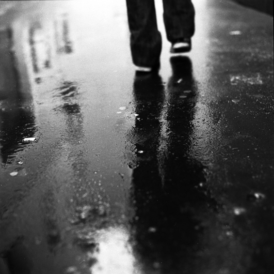 A walk in the rain...