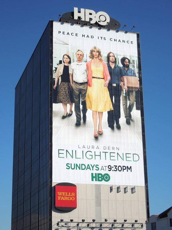 Giant Enlightened season 2 HBO billboard