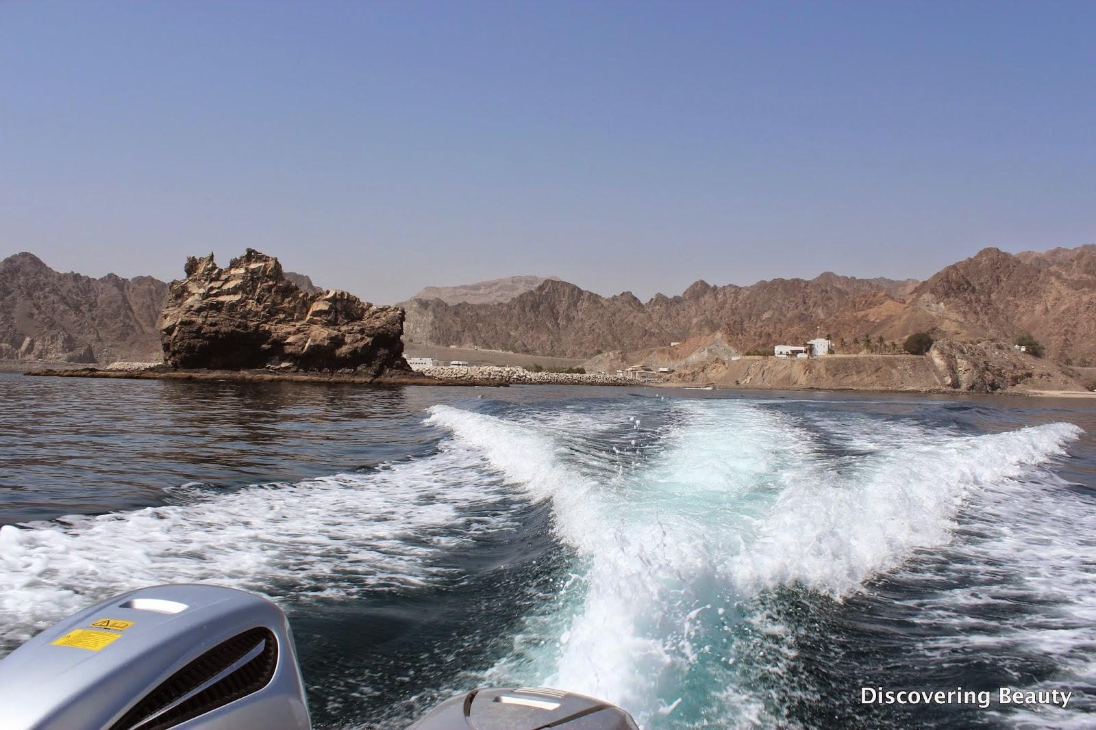 Boat ride Oman