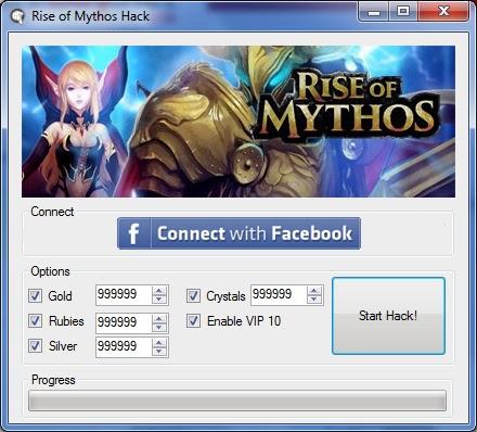 Rise of Mythos Hack