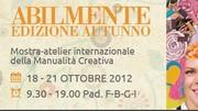 Vi aspetto a Vicenza dal 18 al 21/10/2012: