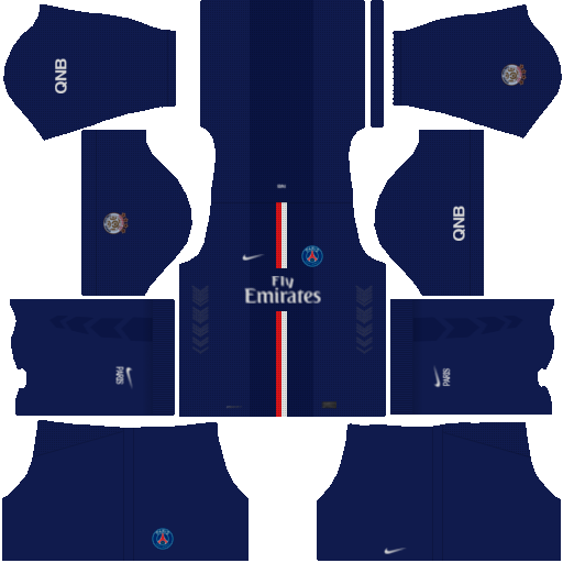 First Touch Soccer FTS15 kit PSG Home