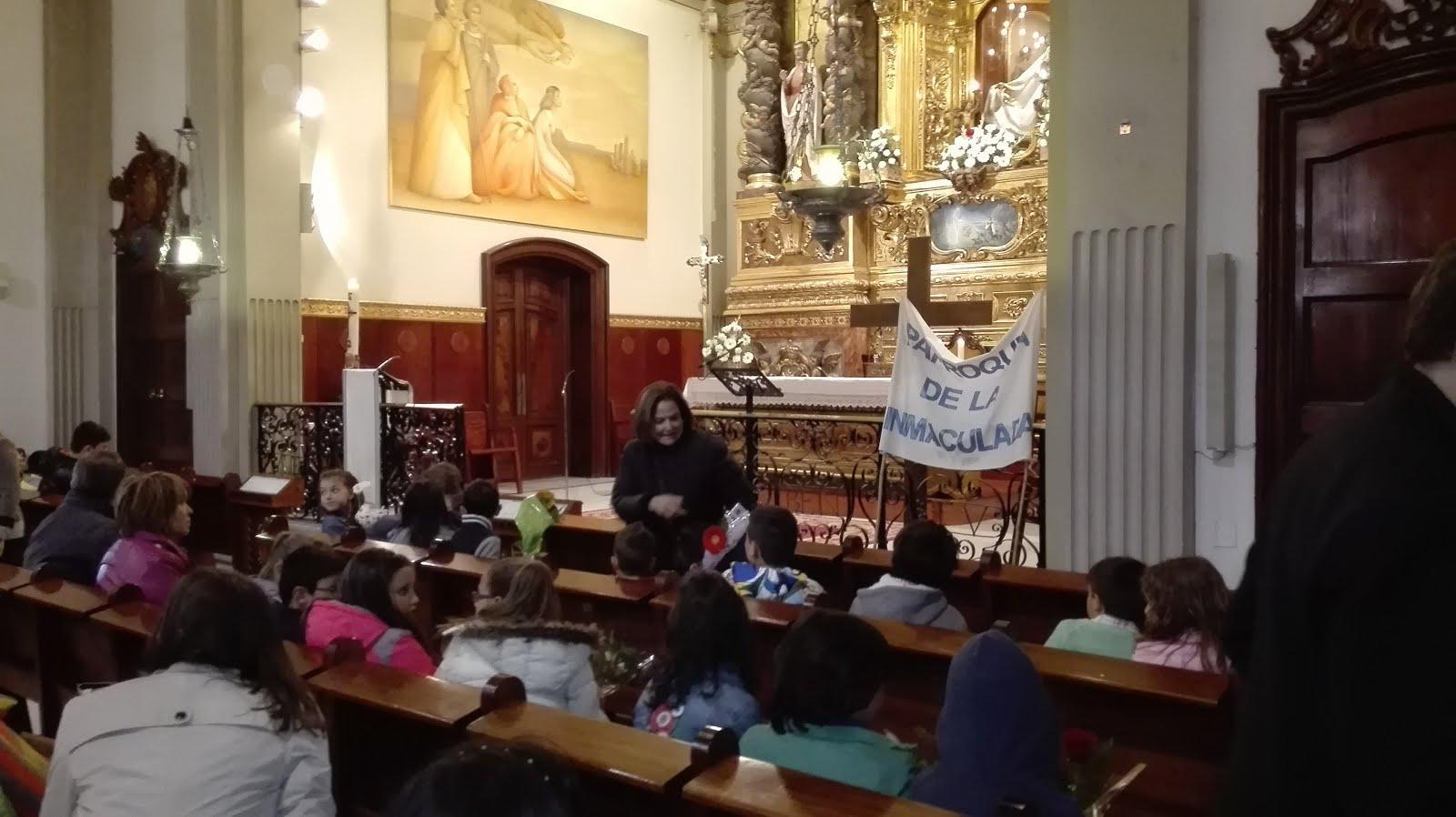 Peregrinació de la parròquia de la Immaculada de Reus (30-4-2016)