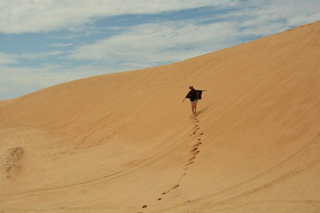Песчаные дюны Муйне White Sand Dunes