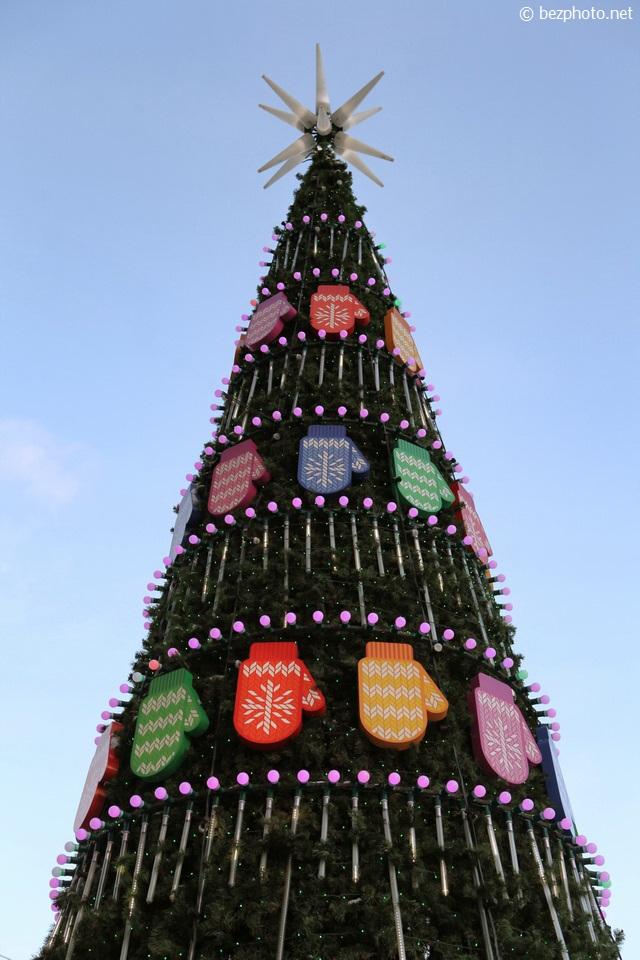 новогодняя елка в москве 2016