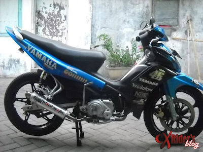 Modifikasi Jupiter Mx Burung Hantu