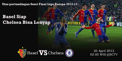 Prediksi Skor FC Basel vs Chelsea 26 April 2013 Liga Europa