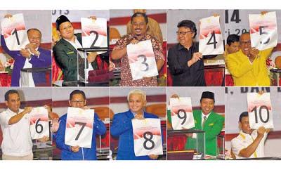 daftar nomor urut parpol peserta pemilu 2014