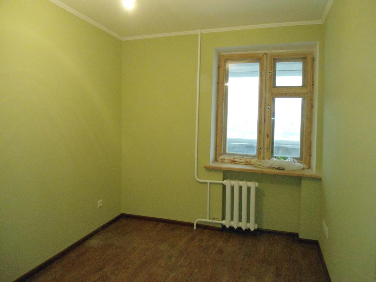 Как сделать ремонт в комнате под покраску