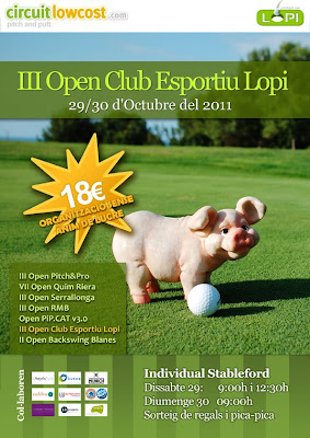 Circuit Low Cost Teia Pitch and Putt 2011
