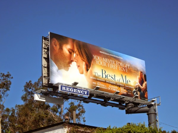 Best of Me movie billboard