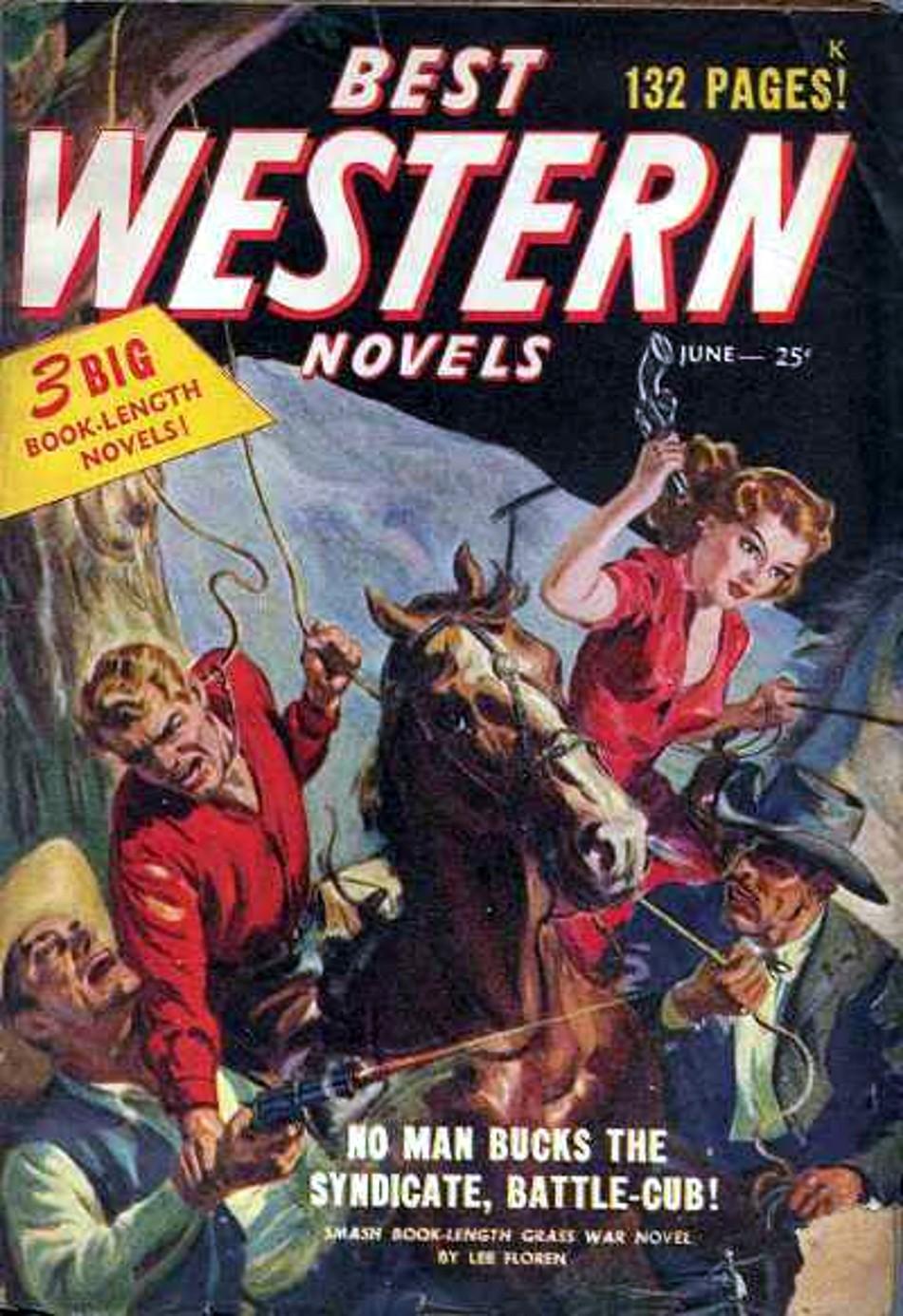 Rough Edges: Saturday Morning Western Pulp: Best Western
