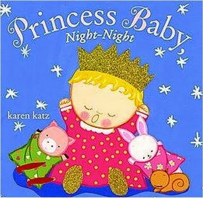 http://www.amazon.com/Princess-Baby-Night-Night-Karen-Katz/dp/0385378483/ref=sr_1_1?s=books&ie=UTF8&qid=1397932844&sr=1-1&keywords=princess+baby+night-night