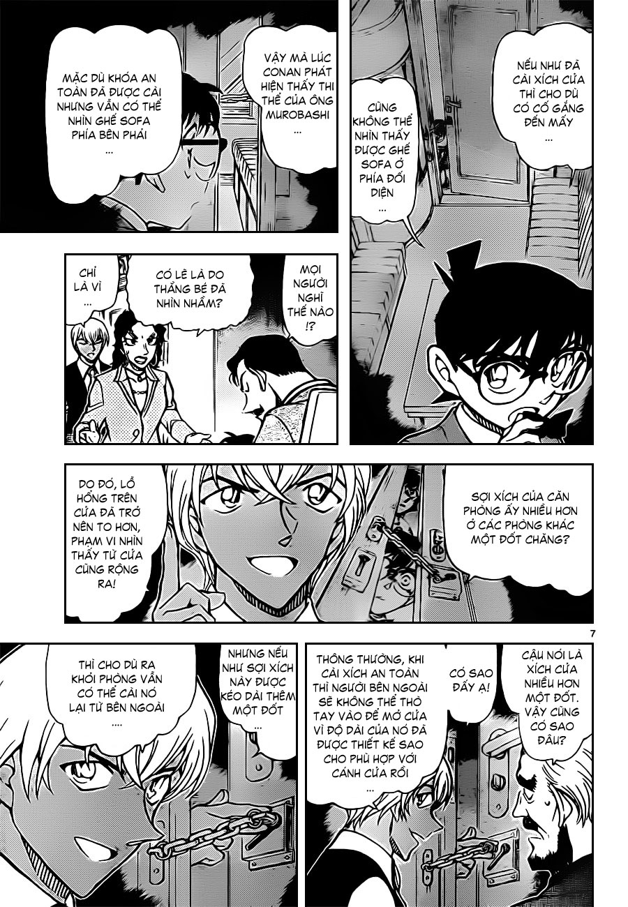 Thám Tử Lừng Danh Conan - Chapter 822 - Pic 8