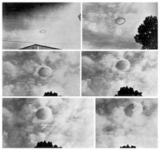 UFOs Make Clouds!