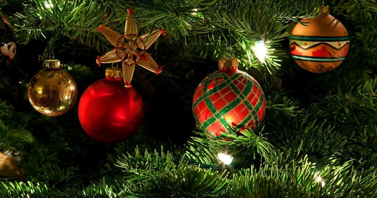 Banco de im genes arbol o pinito de navidad con esferas - O arbol de navidad ...