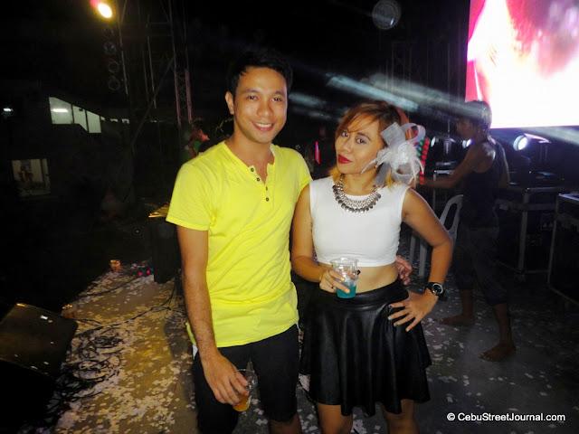 With Miss Eden Villarba - Sabolboro of: http://www.chicinthetropics.com/
