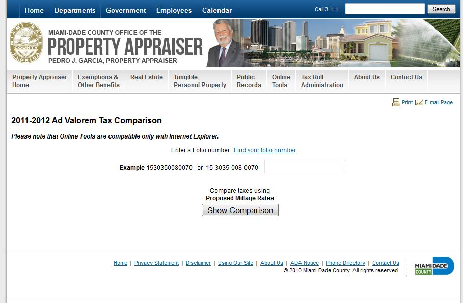 Property Appraiser Office Miami Dade County