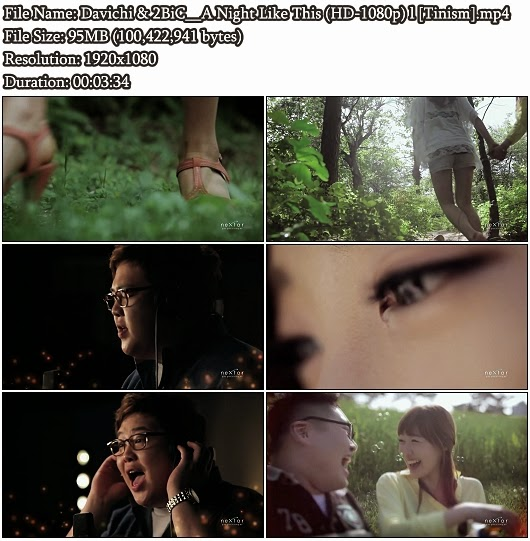 Download MV Davichi & 2BiC (다비치 & 투빅) - A Night Like This (오늘같은 밤이면) (Full HD 1080p)