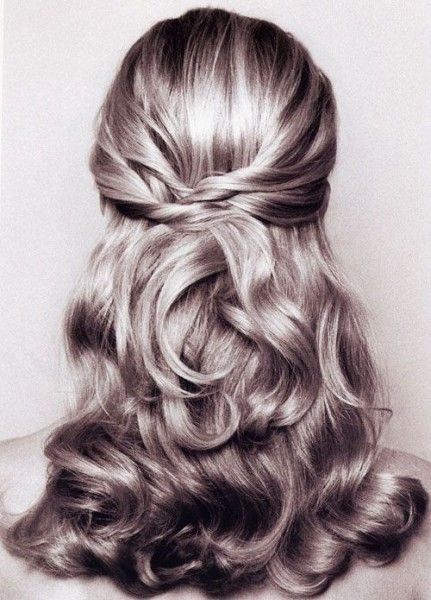 All Stuff Zone: Wedding Hairstyles For Short Hair Half Up Half Down