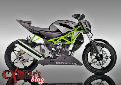 Modifikasi Honda Tiger traill