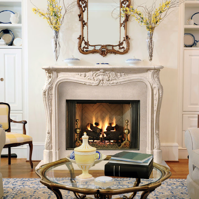 Our French Inspired Home: Our French Inspired Fireplace Mantel