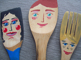 Lutkice-kuhače / Wooden Spoon dolls