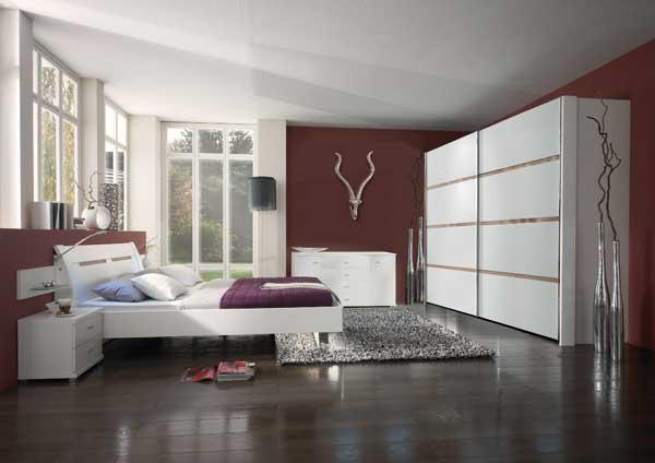 Art d co chambre a coucher casanaute for Chambre couleur prune