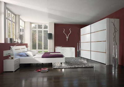 Art d co chambre a coucher casanaute for Deco chambre adulte prune
