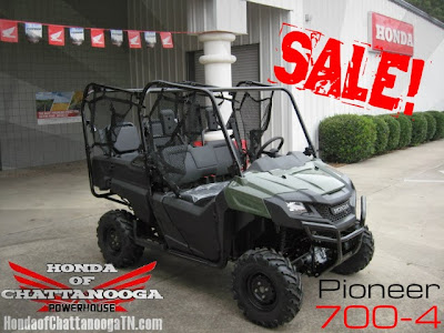 2014 Pioneer 700-4 Green Sale Price GA AL TN Honda of CHattanooga Motorcycle Dealer