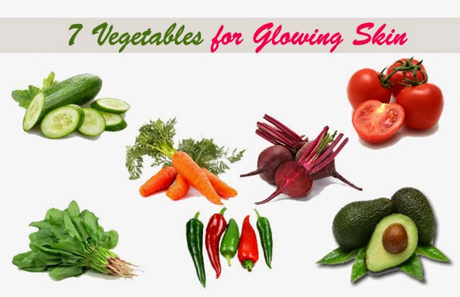 7 vegetables for glowing skin