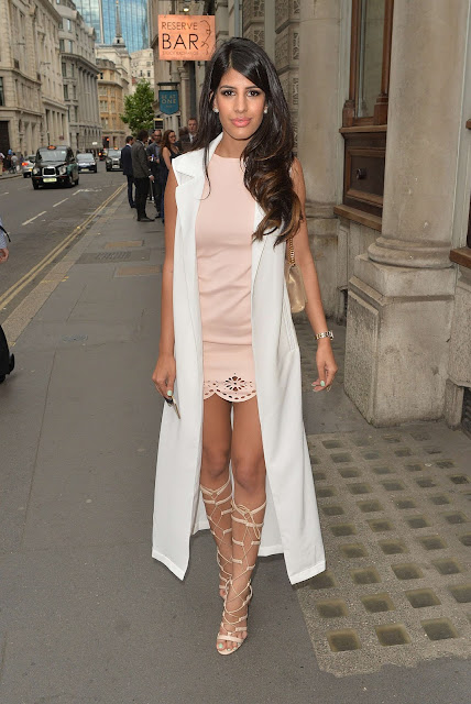 Jasmin Walia at the Reserve Bar in London