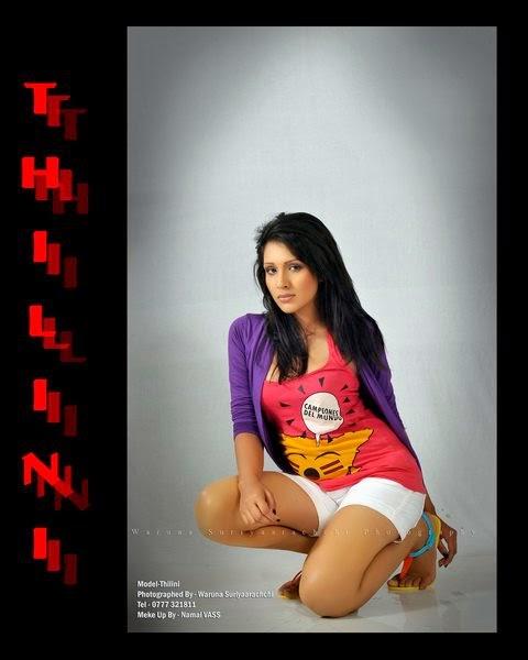 Thilini Amarasooriya sexy model