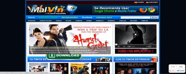 malvin tv peliculas online gratis estrenos 2012