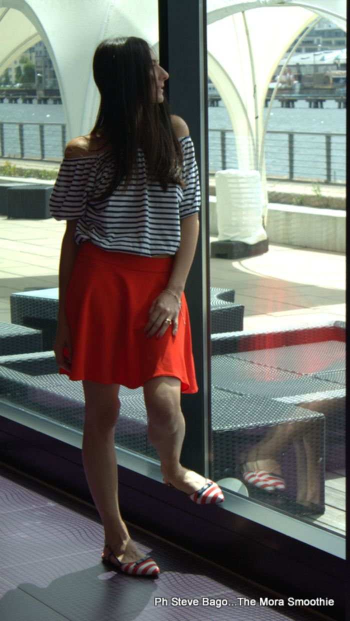 nhow, berlin, berlino, hotel, hotel berlin, fashionblog, fashionblogger blogger, italianfashionblogger, fashion blogger italiana, fashion blog italia, paola buonacara, ootd, outfit, look, shoes, cristofoli, cristofoli shoes, scarpe, maglietta righe, scarpe a righe, ballerine, bmw, mini , bmw mini