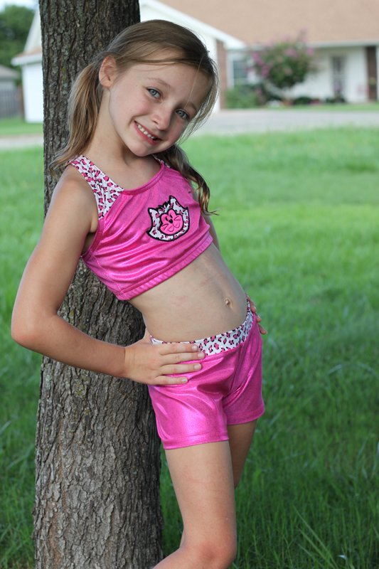 Little Girls Gymnastics Shorts - Bing images