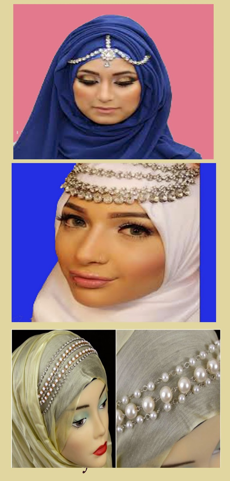 Life Style Of Muslimah Simple But Awsome Hijab Headpieces Headpiece For
