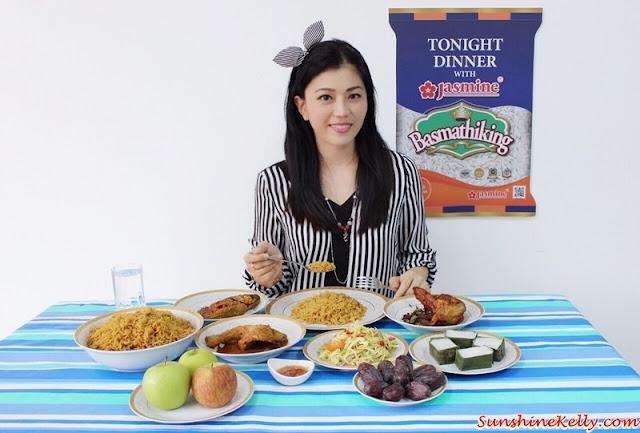 Tonight Dinner with Jasmine, Basmathi King, beras basmathi