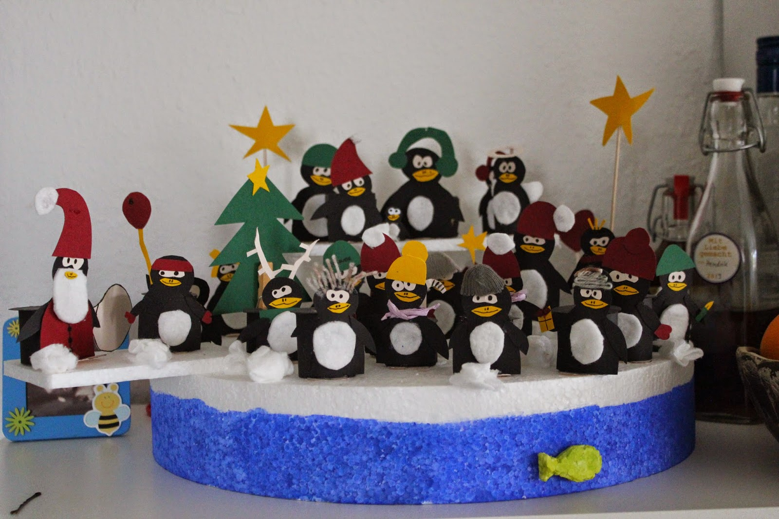 veganhappylove pinguin adventskalender. Black Bedroom Furniture Sets. Home Design Ideas