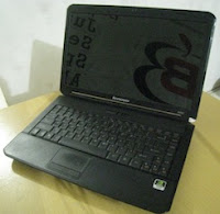 jual laptop 2nd lenovo b450