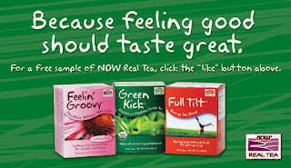 Free Sample Of Now Real Tea