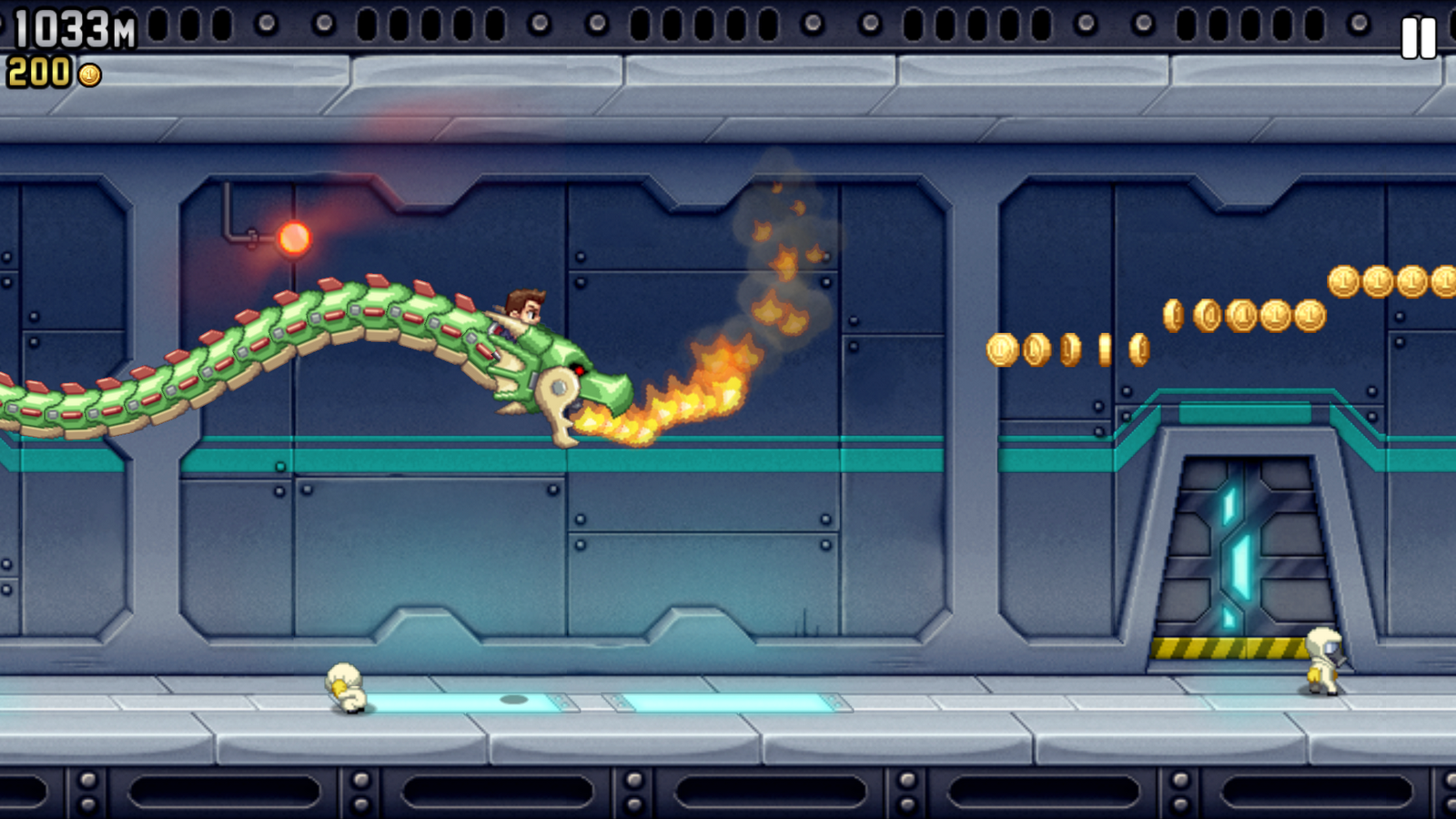 jetpack joyride how to play events