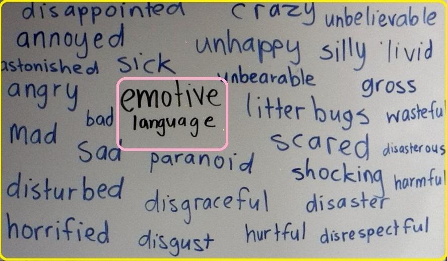 emotive words
