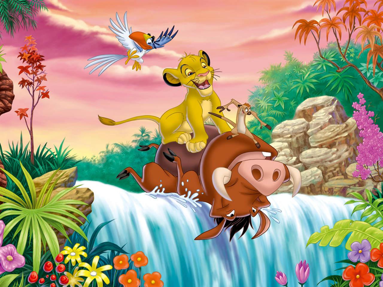 The lion king wallpaper disney desktop wallpaper free for El mural pelicula
